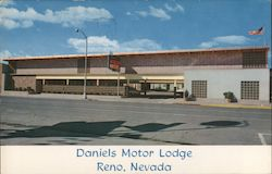 Daniels Motor Lodge Postcard
