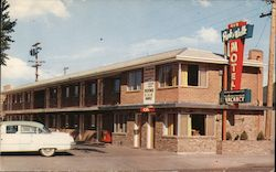 Park-N-Walk Motel Postcard