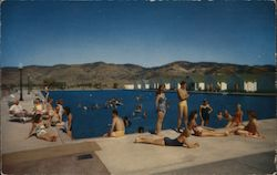 Reno Hot Springs Postcard