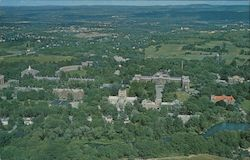Aerial View of Vassar College Postcard