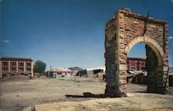 Town of Goldfield Postcard