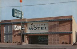 Casino Motel Postcard
