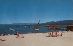 Lake Tahoe, By The Crest Of The Sierra Nevada
