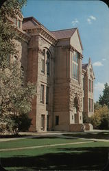 Old Main, University of Wyoming Postcard