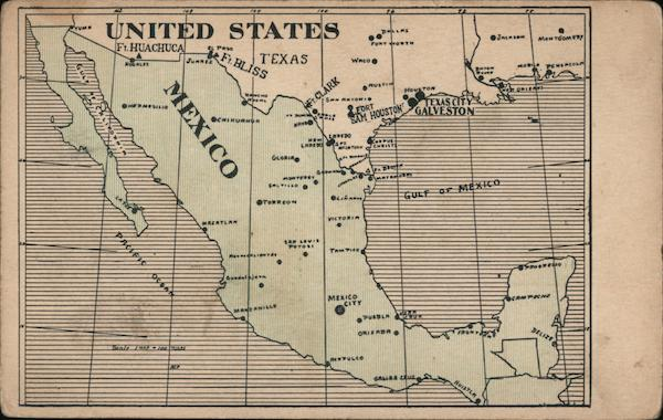 Southern United States and Mexico Maps