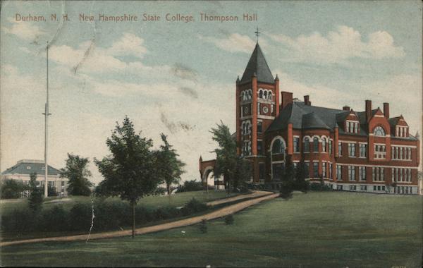 New Hampshire State College, Thompson Hall Durham