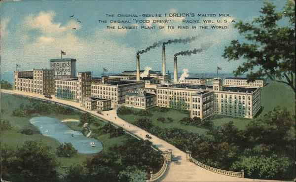 Horlick's Malted Milk Factory Racine Wisconsin