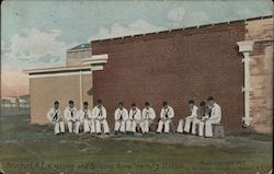 Knotting and Splicing, Naval Training Station Postcard