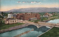 General View of Reno Postcard