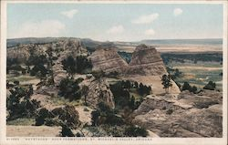 Haystacks Rock Formations, St. Michael's Valley Postcard