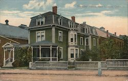 The Elks' Home Postcard