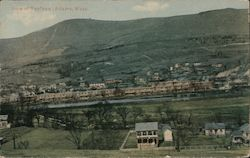 View of Renfrew Mills Postcard