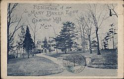 Residence of Mary Baker Eddy Postcard