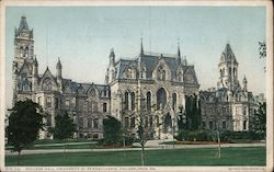 College Hall, University of Pennsylvania Postcard