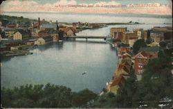 Oswegatchie and St. Lawrence River Postcard