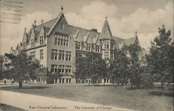 Kent Chemical Laboratory, University of Chicago Postcard