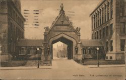 Hull Gate, University of Chicago Postcard