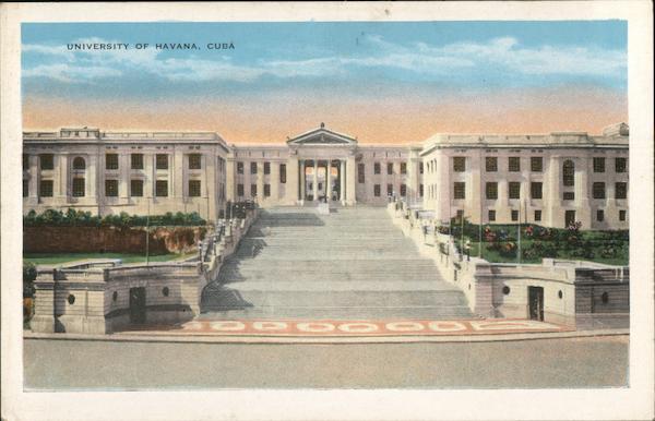 University of Havana Cuba