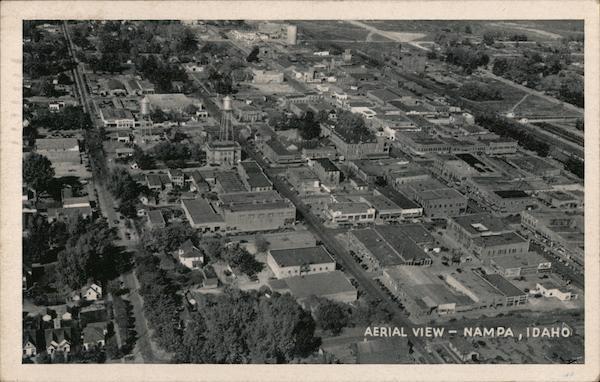 Aerial View of Nampa Idaho