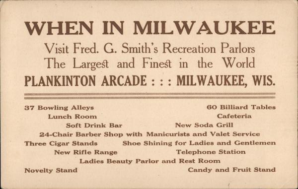 Plankinton Arcade Milwaukee Wisconsin