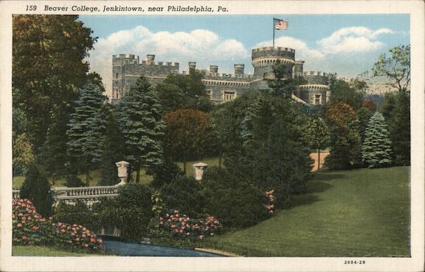 Beaver College, near Philadelphia Jenkintown Pennsylvania