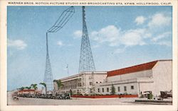 Warner Bros Motion Picture Studio and Broadcasting Station