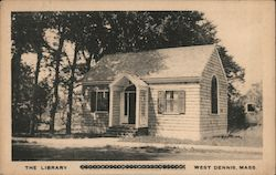 The Library Postcard