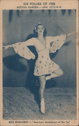 "Bess Ehrhardt ""America's Sweetheart of the Ice"" -- Ice Follies of 1938"