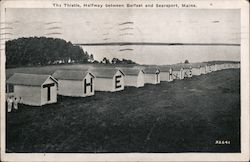 The Thistle, Halfway Between Belfast and Searsport, Maine Postcard