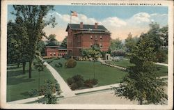 Meadville Theological School and Campus Postcard