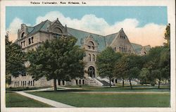 Tulane University On St. Charles Ave. Opposite Audubon Park Was Founded In 1884