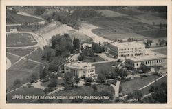 Upper Campus, Brigham Young University Postcard