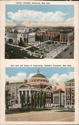 Library, Earl Hall and School of Engineering, Columbia University
