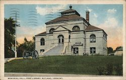 Memoral Hall, Free Library