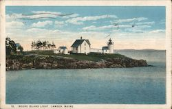 Negro Island Light Postcard