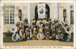 Yuma Indian Band, The Only One Tribe Indian Band in the West