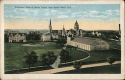 Bird's-eye View of Notre Dame, near South Bend, Ind.