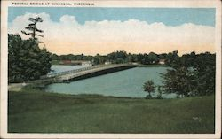 Federal Bridge at Minocqua, Wisconsin