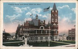 Freeborn County Court House Postcard