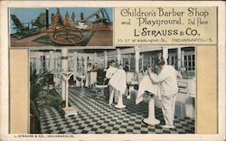 L. Strauss & Co., Indianapolis Postcard
