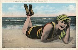 A Pebble on the Beach Postcard