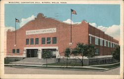 Municipal Convention Hall Postcard