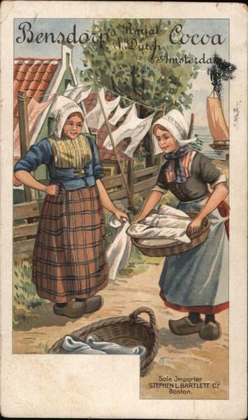 Bensdorp Royal Dutch Cocoa Advertising