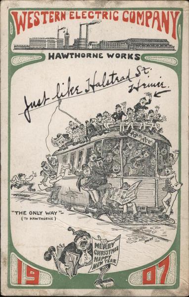 Western Electric Company--Hawthorne Works Cicero Illinois
