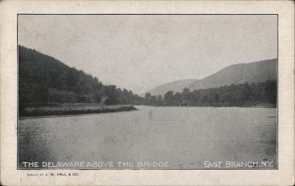 The Delaware above the Bridge East Branch New York