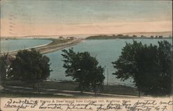 Point Shirley & Deer Island from Cottage Hill Postcard