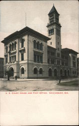 U.S. Court House and Post Office Postcard