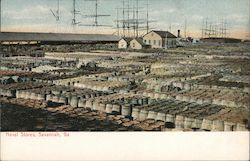 Naval Stores Postcard