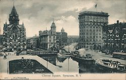 Clinton Square Postcard