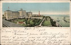 Colonial Hotel Postcard